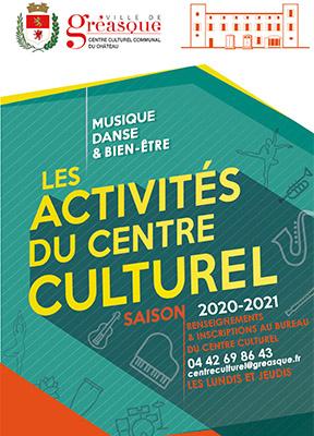 Couverture Flyer culturel saison 2020/2021